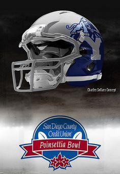 byu helmet 2 #byu #bowlweek
