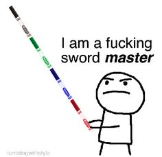 The sword master.