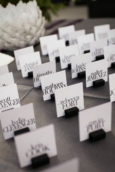 *love* these name cards.