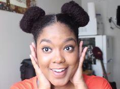 4 easy bun styles