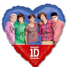 One Direction Folie Ballon - Sisters in Wonderland direct foli, one direction, foli ballon, direct parti