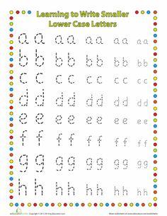 idea, worksheets, kindergarten, educ, fine motor, handwriting, letters, motor skills, homeschool worksheet