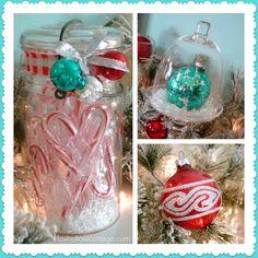 Fox Hollow Cottage: A Cottage Christmas Mantel {Holiday 2012} christmas holidays, fox hollow, christma decor, cottage christmas, christmas decorating ideas, christma mantel, cottag christma, hollow cottag, christmas mantels