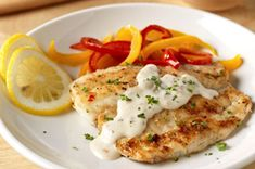 Pan-Fried Fish with Creamy Lemon Sauce for Two recipe