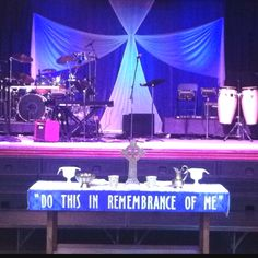 Simple Church Stage Designs On Pinterest Design
