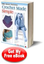 """One Skein Patterns: Crochet Made Simple eBook"""