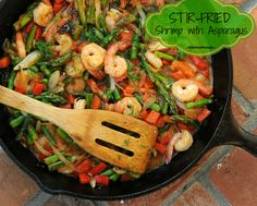 Stir-Fried Shrimp with Asparagus, one of Kitchen Parade's Best Recipes of 2013