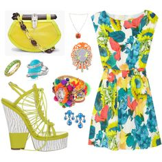 Garden Fruit, created by leiastyle on Polyvore