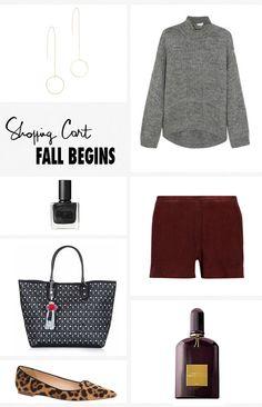 Shopping Cart Fall Begins