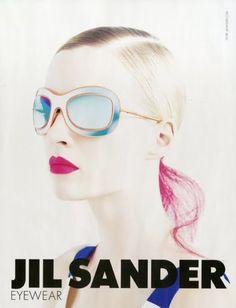 Jil Sander eyewear.