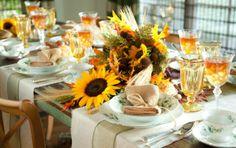 Savannah Style: Paula's Thanksgiving Table