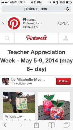 2014 Teacher Appreciation