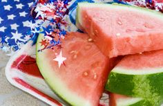 Red, White and Blue Foods that are Good for You! #Healthy #MemorialDay
