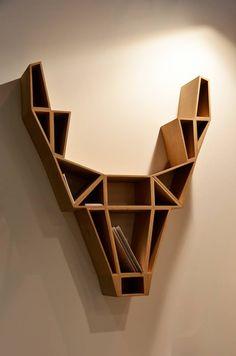 Be Design / deer shelf