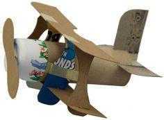 Mini Plane Recyclced Items