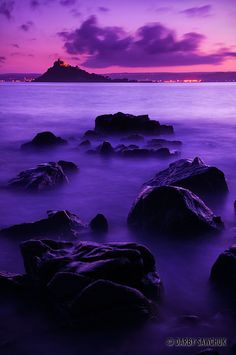 Dark at St Michael's Mount, Cornwall, England