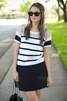 stripes- Gal Meets Glam