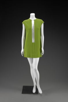 """Rudi Gernreich (American, 1922-1985), """"Dress,""""  1968; Indianapolis Museum of Art, E. Hardey Adriance Fine Arts Acquisition Fund in memory of Marguerite Hardey Adriance, 2008.211"""