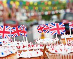 anniversary, foods, flags, cupcakes, diamonds