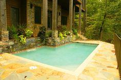Gorgeous small pool
