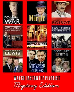 9 Mystery Series Selections Available on Netflix Watch Instantly