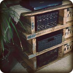 Wooden Pallet Dresser :: Hometalk