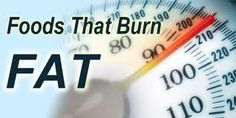 Top five foods that burn fat
