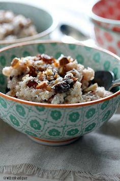 Slow cooker coconut almond rice pudding, from With Style and Grace via Slow Cooker from Scratch.