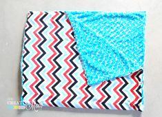 Minky Blanket Sewing Tutorial   The Creative Mom
