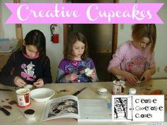 creativ cupcak, coop class, cupcakes, homeschool coop, homeschool idea