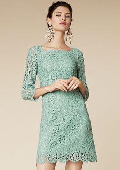 Dolce & Gabbana ~ Lace Dress Spring Summer 2013