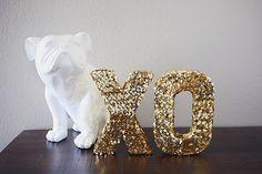 eighteen25: million dollar sequin letters