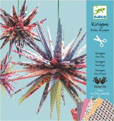 #DIY Paper #origami balls by #Djeco from www.kidsdinge.com https://www.facebook.com/pages/kidsdingecom-Origineel-speelgoed-hebbedingen-voor-hippe-kids/160122710686387?sk=wall