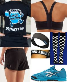 Crossfit outfit - love the t-shirt