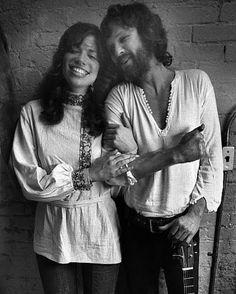 Carly Simon & Kris Kristofferson, 1972
