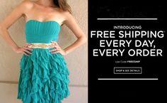 Shop cute juniors dresses online!