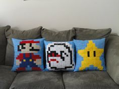 Invincibility Star pillow by punzie on Etsy, $25.00