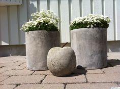 betong,betongkrukor,betongäpple