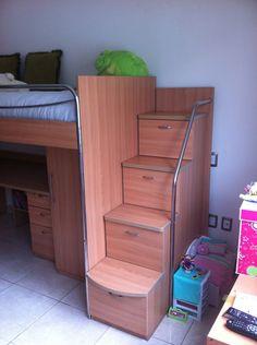 Literas on pinterest bunk bed modern bunk beds and closets - Literas con armario incorporado ...