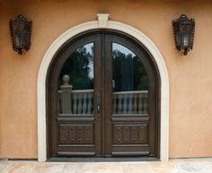 Double Exterior Alder Door