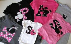 Shirts for the family. I am usually not into matching outfits, but I think for Disney it would be fun! #Tangled2012 #Disney #OrlandoFL
