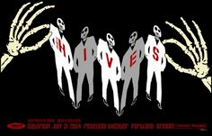 The Hives concert poster