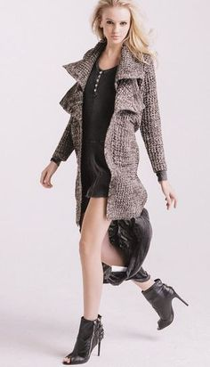 Layer it On! New Dresses, Jackets, Sweaters,  Vests now available at ShopAKIRA.com