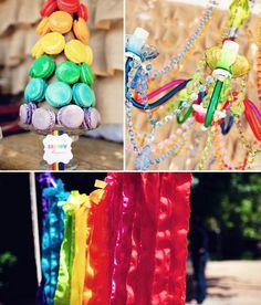 Hot Air Balloon birthday theme