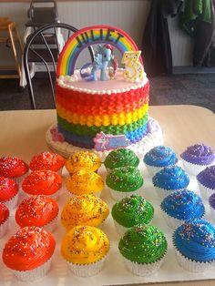Rainbow+My+Little+Pony+Cake+-+