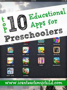 Top 10 Educational Apps for Preschoolers