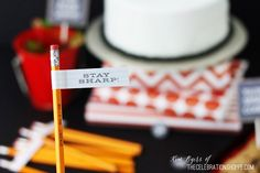 Back To School Party + Free Party Printables | Kim Byers, TheCelebrationShoppe.com #backtoschool