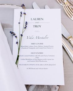 Simple elegance      #stationery #weddingstationery #weddingmenu #weddingdecor #sanfranciscoweddingphotographer #smpweddings #weddingtablescape #theknot #weddingreception