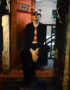 Andy Warhol byMarie Cosindas, 1966 #truenewyork #lovenyc