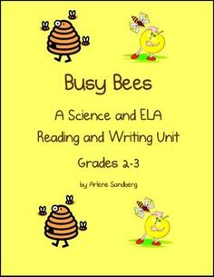 This is a Science/ Reading and Writing Unit for Grades 2-3. It integrates grade level ELA Common Core Standards through ScienceCommon Core Stan...